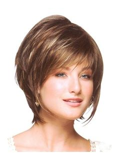 Lace Front Straight Short Wig