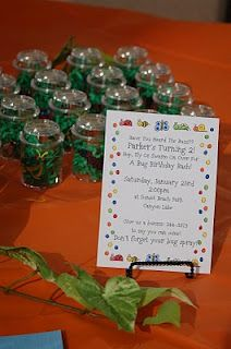 A Bug Party! With healthy food! Great food pics and a couple of activity ideas