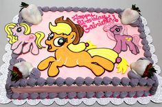 "http://CakeDecoratingCoursesOnline.com/cake-decorating/  My Little Pony Applejack Birthday Cake by Tony ""The Pastryarch"" Albanese:#Cake Decorating Tutorial for a #Cakes of Your Dreams - Learn Amazing #Cakes #Design Creating on http://CakeDecoratingCoursesOnline.com and Join Your Dream Cake Decorating Tutorials online!"