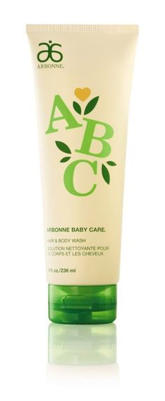 Arbonne Baby Hair and Body Wash A gentle, mild, tear-free cleanser that is botanically-based for a baby's delicate hair and skin. It moisturises and conditions by replacing the natural oils as it cleanses never leaving hair and skin feeling stripped or dry. Antioxidants work to protect from environmental factors while natural herbs and botanicals help maintain the perfect moisture balance of hair and skin. Recommended for children from birth to 10 and extremely sensitive skin types.