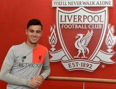 Blog Esportivo do Suíço:  Liverpool anuncia renovação de contrato de Philippe Coutinho até 2022