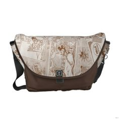 Customizable Rickshaw Messenger Bag made by Rickshaw Bagworks. Personalize it with photos & text or shop existing designs! Disney Inspired Fashion, Fashion Shoes, Mens Fashion, Vintage Mickey Mouse, Pack Your Bags, Disney Style, Cool Items, Beautiful Bags, Purses And Handbags