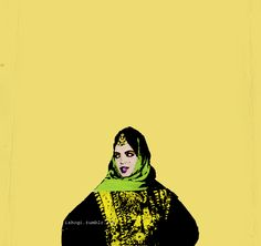 Arabic Pop Art by shoq, via Behance
