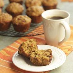Orange-Date Pumpkin Muffins  - EatingWell.com