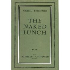 naked_lunch.william s burroughs ❤ liked on Polyvore