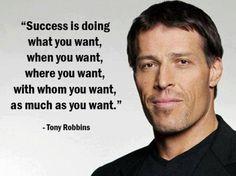 Sukses kata Tony Robbins adalah..