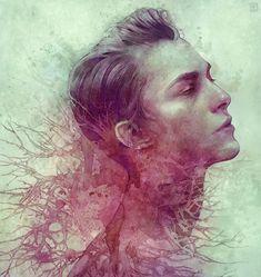 Hybrid Illustrations byAnna Dittmann Website |... | The Only Magic Left is Art