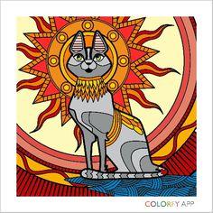 Colorfy app Animals volume 1