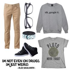 Casual 2 - Loser Like Me by wishmemuke on Polyvore featuring Urban Pipeline