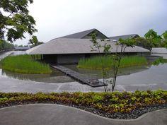 Sagawa Art Museum, Moriyama, Shiga, Japan. 佐川美術館