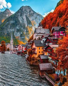 Hallstatt, Austria travel destinations 10 Most Beautiful Villages in Europe Places Around The World, The Places Youll Go, Places To See, Beautiful Places To Visit, Wonderful Places, Dream Vacations, Vacation Spots, Girls Vacation, Vacation Ideas
