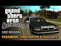 cool GTA San Andreas - Paramedic, Firefighter and Vigilante
