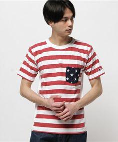 Champion Men's(チャンピオン メンズ)のリバースウィーブ ポケット付きTシャツ(Tシャツ/カットソー)|ホワイト