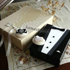 Son dönemde moda olan bir başka düğün hazırlığı ayrıntısının yapımından bahsedicez bugün.Genelde damat kutusu veya smokin kutu denilen bu ...