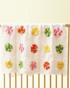 Candy Swirls Baby Blanket | AllFreeCrochet.com