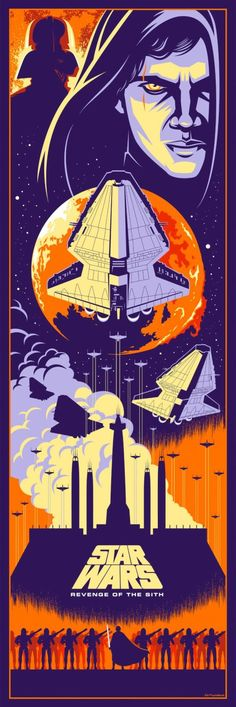 Eric Tan Star Wars Prequel Prints - Revenge of the Sith