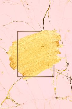 Gold paint with a golden rectangle frame on a pink marble background vector fr Cellphone Wallpaper, Iphone Wallpaper, Black Marble Background, Cool Art Projects, Gold Paint, Free Illustrations, Deep Purple, Wallpaper Backgrounds, Wallpapers