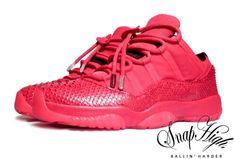 "Air Jordan XI Low ""Yeezus"" Customs by Snaphigh e026adb37"
