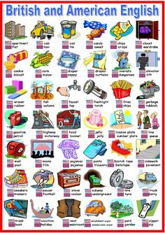 English is so fun!: British vs American English