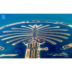 #Dubai Palm Jumeirah, Taken by Karim Nafatni