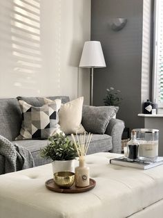 How to create DIY Board and Batten wall panelling Lounge Decor, Living Room Color, Taupe Living Room, Ottoman Decor, Wallpaper Living Room, Grey Sofa Living Room, Living Room Grey, Living Room Decor Gray, Gray Living Room Design