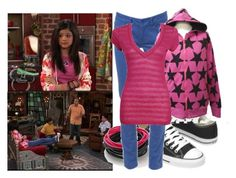 """Selena Gomez as Alex Russo"" by jc10 ❤ liked on Polyvore featuring Converse, Disney, Miss Selfridge, Forever 21, selena gomez, wowp, alex russo, wizards of waverly place and wizard school part 1"