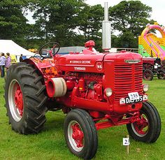 McCromick Derring W6 tractor in red