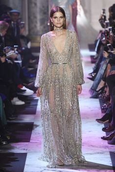 Elie Saab Spring 2018 Couture Fashion Show Collection