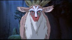 Princess Mononoke - Forest Spirit..That look he gives you tho...kinda creepy Get all Your Anime Right Here(Stream) http://kissanime.com/G/257310?l=http%3a%2f%2fkissanime.com