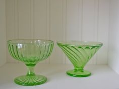 Hey, I found this really awesome Etsy listing at https://www.etsy.com/listing/119679580/green-federal-glass-bowls