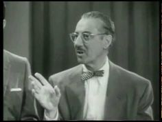 "Groucho Marx: You Bet Your Life Episode - Secret Word ""Head"" (1950s)"