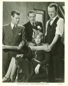 Paul Kelly, Paul Cavanagh, James Burke, and Rita Johnson, Within the Law (1939)