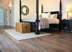 Reclaimed Living Wood Flooring Company, Reclaimed Hardwood Flooring, Reclaimed Barn Wood, Hardwood Floors, Wood Siding, Fireplace Mantels, Interior Design, Bed, Inspiration