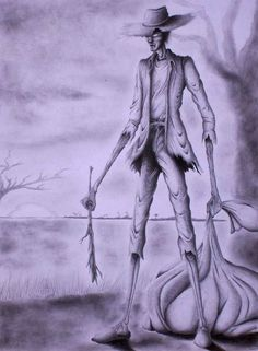 Seeks Ghosts: El Silbón: The Whistler is the cursed spirit of a man that killed his father and now haunts the Venesuelan nights carring a bag full of bones and looking for drunks or cheaters to punish them.