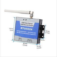 GSM Garage Swing sliding Gate door Opener Relay Switch Remote Access Control Door Opener server controller