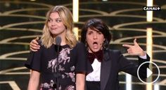 César 2016 : Quand Florence Foresti met (gentiment) la honte à Louane Emera (VIDEO)