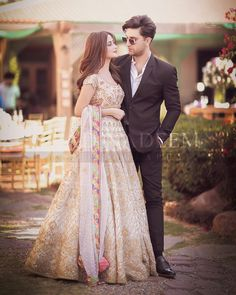 Ahad Raza Mir and Sajal Aly Awesome Pictures from Yasir Iqra Wedding Pakistani Wedding Outfits, Bridal Outfits, Pakistani Dresses, Nikkah Dress, Indian Gowns, Indian Wear, Couple Photoshoot Poses, Wedding Photoshoot, Wedding Shoot
