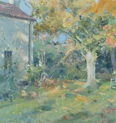 Oil Painting in the Garden with David Curtis