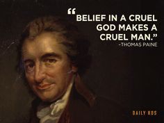 The great political philosopher Thomas Paine,  whose writings influenced the American Revolution, the French Revolution, and freethought movements ever since; but, unfortunately, he couldn't free American's from their dogmatic following of the bible or the  disgraceful institution of slavery in his lifetime