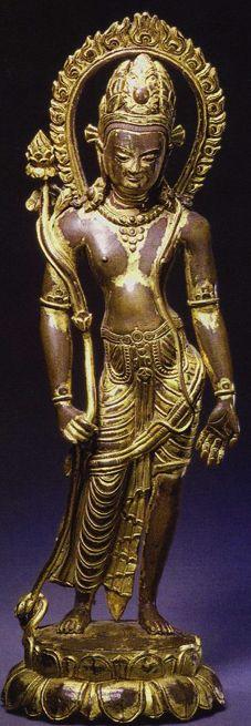 century, Nepal, Avalokiteshvara, gilt copper alloy and stones. Nepal Art, East Asian Countries, Thing 1, Hindu Deities, Guanyin, Religious Icons, Effigy, Buddhist Art, Sacred Art