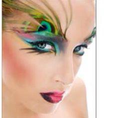 Fantasy makeup. #makeup