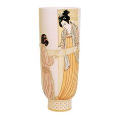 Dennis Chinaworks pottery designed by Sally Tuffin. This Fashion design was produced from It is a numbered edition limited to Uk Fashion, Fashion Design, Pottery Designs, Pottery Vase, Sally, Chinese, Mugs, Deco, Pattern
