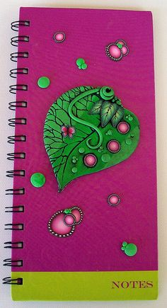 Simple Leaf Journal  by MandarinMoon, via Flickr