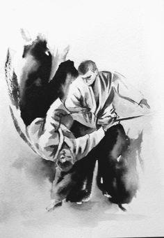 Aikido art Artist InkFox