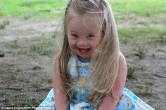On show: All the photos are now part of a gallery show in Providence, to kick off Down syndrome Awareness Month