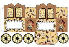 kit imprimible candy bar jake y los piratas - Buscar con Google