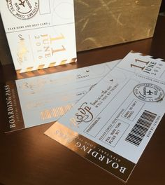 Your place to buy and sell all things handmade Passport Wedding Invitations, Wedding Invitation Suite, Invitation Ideas, The Wedding Date, Wedding Night, Gatsby Wedding, Cruise Wedding, Wedding Planning, Wedding Ideas