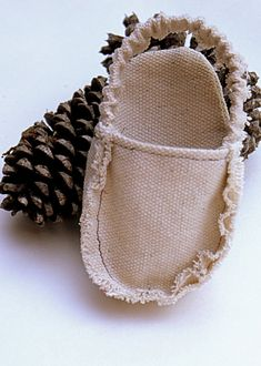 INSTANT DOWNLOAD Frayed Baby Shoe sewing pattern by tookiesbytrish