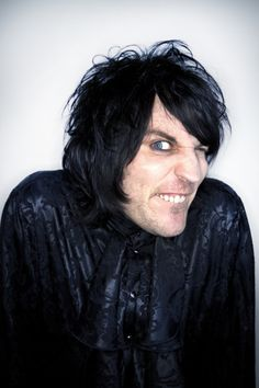 Noel Fielding. I could seriously watch this man all day long.
