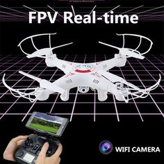 WiFi Drones With HD Camera Rc Drone Flying Camera Helicopter Remote Control
